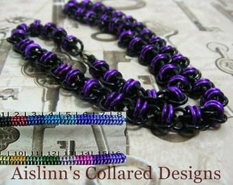 Black Base Barrel BDSM Slave Collar Choker Necklace