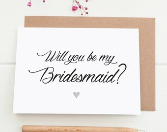 Will you be my maid of honor card, matron of honor card, bridesmaid card, digital download