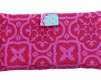 Button Clutch Pink Color Diaper and Wipe Holder