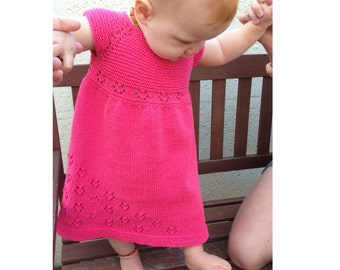 Czarina Dress PDF pattern newborn, 3, 6, 9, 12, 18 months 2t 3t 4t 5t