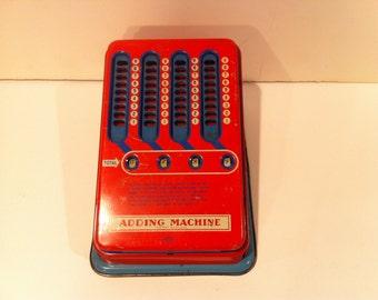 Vintage Wolverine Adding Machine