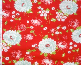 Scrumptious June red Bonnie & Camille moda fabric FQ or more