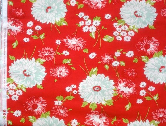 Scrumptious June red Bonnie & Camille moda fabric FQ or more