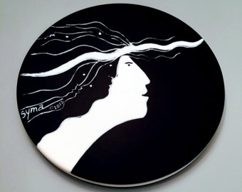 Muse Charger Coaster - CONTEMPORARY CALLIOPE