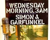 """Reserved For Theresa: 1960s Folk Pop New York LP,Simon & Garfunkel """"Wednesday Morning, 3 Am"""" (1970 Re-Issue with """"The Sounds of Silence"""")"""