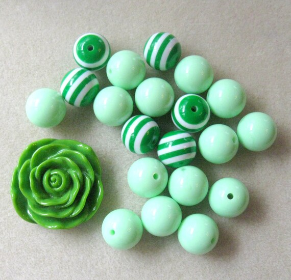 how to make acrylic resin beads