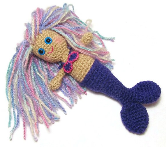 Amigurumi Crochet Mermaid : Amigurumi Mermaid Doll Crochet Mermaid Doll Crochet by ...