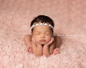 Rhinestone headband, baby rhinestone headband, newborn photo prop, photography prop, baby headband