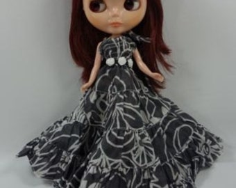 Handmade Outfit dress for Blythe doll costume dress  D-24