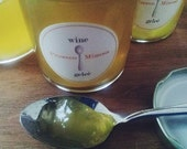 Italian Prosecco Mimosa Wine Geleé (jelly)