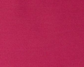 Solid Bright Fuchsia Pink Rayon Challis, 1 Yard