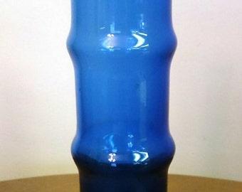 Blue Aseda Bamboo Vase