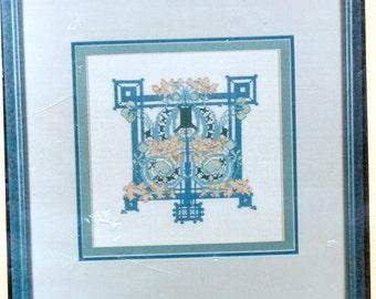Louis Sullivan Cross Stitch Kit counted thread
