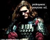PENDRAGON Perfume Oil - Sensual Woods, Spikenard, Dragon's Blood, Light Apple - Medieval Perfume - Legends of the Grail Perfume - Merlin