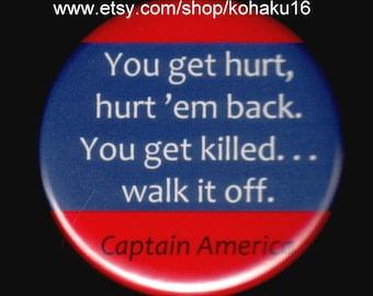 Captain America Quote Button
