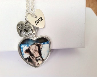 Custom Photo Necklace/ PERSONALIZED PHOTO jewelry, Send me YOUR Photo, Personalized Pendant/ Made for You