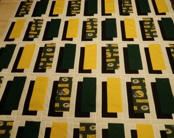 Green Bay Packers Shadow Box Quilt Pattern