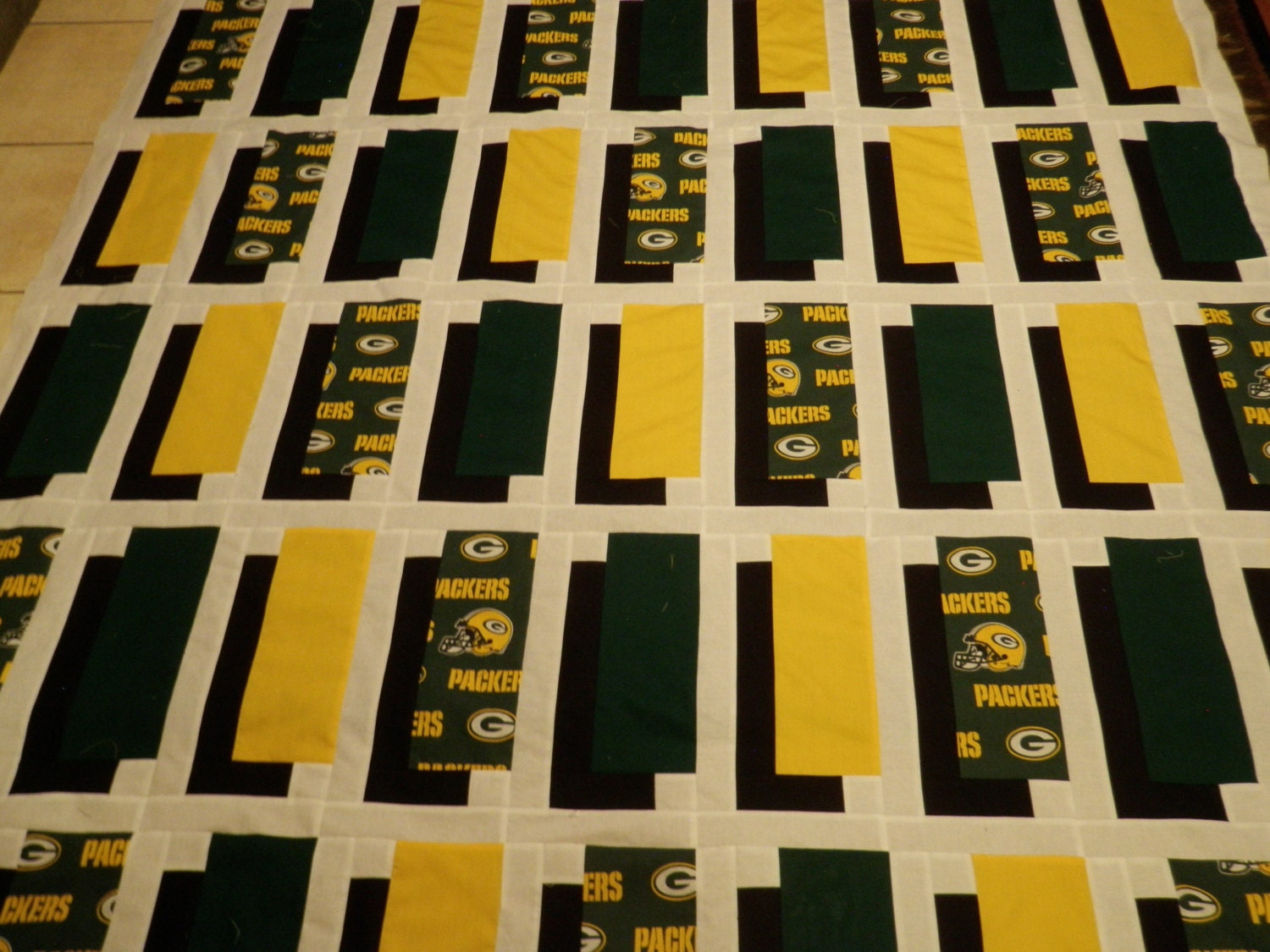 Green Bay Packers Shadow Box Quilt Pattern from TheGiftNook on ... : quilt shadow box - Adamdwight.com