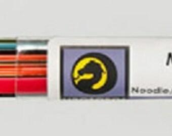 Fusing Glass Supplies Un8099- noodles/stringers COE90 Mardi Gras Tube