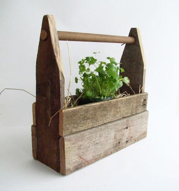 Rustic Primitive Planter Garden Box Window Sill By