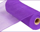 10 Inch Purple Deco Mesh Roll RE130223, Deco Mesh Supplies