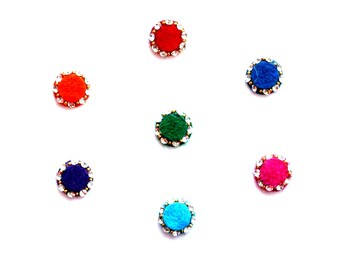 Self Adhesive Round Bindi Indian Dots Bollywood Body Art
