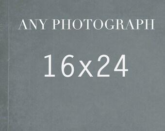 Any Photography 16x24, Fine Art Photography, Wall Art, Photography Decor, Large Print