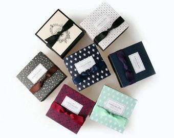 Various patterns Chocolate Box Set -4boxes(Select Pattern)