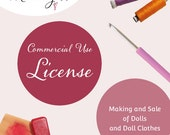 License for the Making and Sale of Dolls and Doll Clothes