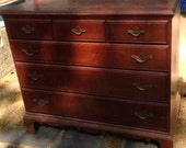 Antiqued Teal Chests of Drawers