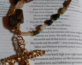 R118 Gemstone Anglican Rosary Protestant Christian Prayer Beads