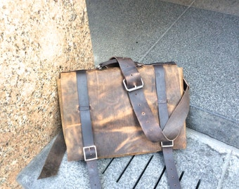 Computer bags, Mens leather messenger bags, Laptop messenger, Mens satchel, Leather computer bag, Mens laptop satchel, Custom made in NY