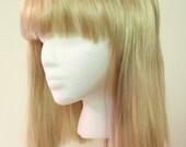 Shoulder Length Blond Wig