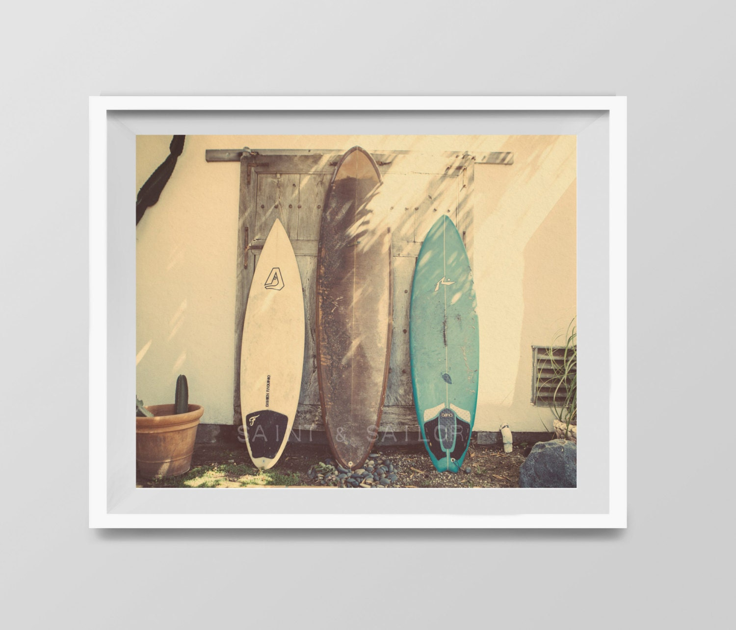 Surf art vintage surfboards surf decor beach photos zoom amipublicfo Image collections