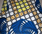 Ankara African fabric per yard/ African print fabrics/ African clothing/ African head wraps