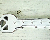 Modern Looking Wood Key Holder, Key Hooks,Cottage decor, Hang different ways, Choice of Colors and Finishes