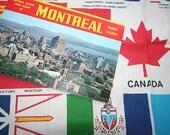 Vintage Canada Souvenirs Skemo Textile and Colourpicture Paper Ephemera
