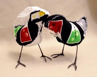 Chemistry Love Stuffed Birds