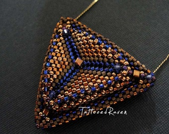 Built up Triangle Pendant