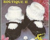 Mary Jane Shoes Crochet Pattern No 54 Instant Download