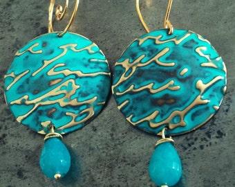 Maktub Poesie Earrings