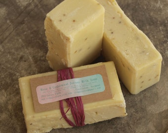 Farm Fresh Rustic Rose Jersey Milk Soap