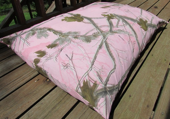 Pet Bed Duvet Cover Realtree Pink Camo 45 X 32 By 7CatsHeaven