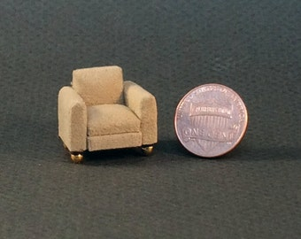 Quarter Inch Scale Furniture - Manhattan Style Chair