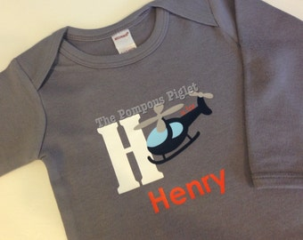 H is for... Personalized Name Onesie