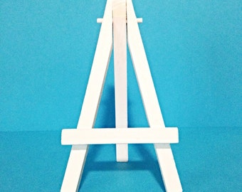 Miniature Easel, Art Display, 5 Inch Easel, Available in White or Black