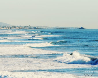 Cali Coast - View from Huntington Beach to Newport Beach