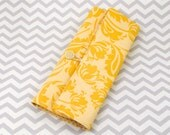 Knitting Needle Roll for Circular Needles - Yellow
