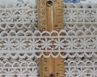 Vintage Off-White Sewing Trim 5-1/3 Yards