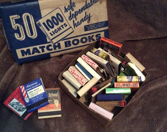 Mix of Vintage Matches